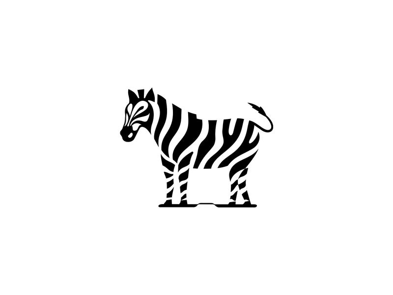 Zebra  | Coffee House  ☕️ blcstudio patrykbelc belcdesign negativespace logo logodesign logomark coffeehouse zebra