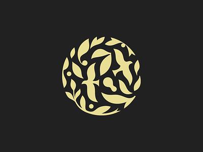 Frosenka  ✽ patrykbelc blcstudio belcdesign leafs nature spa branding logomark logodesign logo