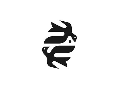Barwinki ✻◍ patrykbelc blcstudio belcdesign minimalism birds restaurant branding logodesign flatdesign logo
