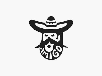 Amigo ◍ logo patrykbelc blcstudio belcdesign restaurant branding logomark logodesign amigo