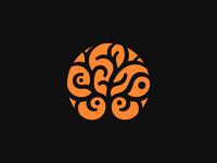 Tree ❉ | dark patrykbelc blcstudio belcdesign spa branding negativespace logodesign logomark logo tree