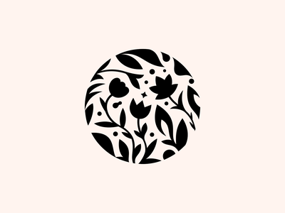 Frosenka  ✽ spa patrykbelc blcstudio belcdesign negativespace branding flowers flatdesign logodesign logo
