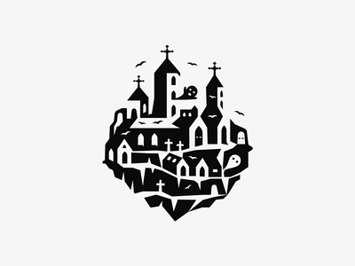 Halloween Castle ▲ patrykbelc belcdesign illustration vectors halloween design castle halloween dribbbleweeklywarmup