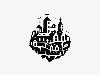 Halloween Castle ▲ patrykbelc belcdesign illustration vectors halloween design castle halloween dribbbleweeklywarmup