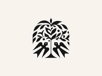 Birds ✽ nature leafs logomark spa patrykbelc belcdesign flatdesign branding logodesign logo birds