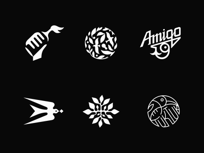 Symbols | 2020 patrykbelc belcdesign branding flatdesign logopack logodesign logotype logomarks symbols