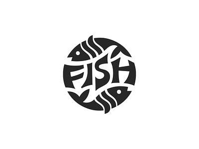 Fish ♋︎ flat patrykbelc belcdesign branding logodesign logomark logo fish
