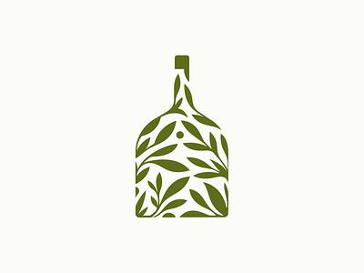 BIIN | Organic Whisky  ❧ leafs nature patrykbelc belcdesign branding logodesign logomark organic whisky