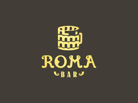 Bar Roma / dark background