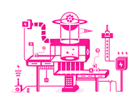 Machine Dribbble