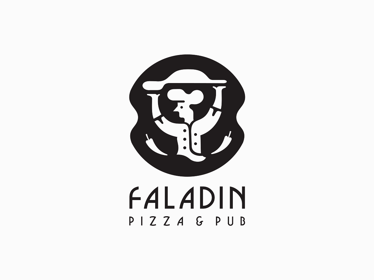 Faladin Pizza blc belcdesign pepper cooker logodesign logomark logo pizzahouse faladin