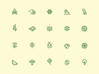 Nature Icons 🌿