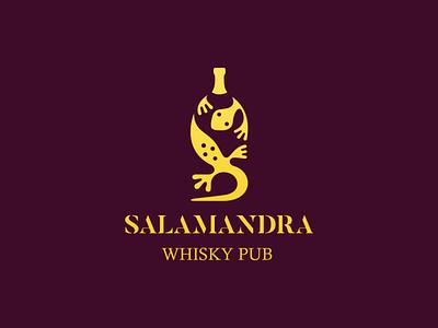 Salamandra | Black blcstudio belcdesign pub whisky salamander branding logomark logodesign logo
