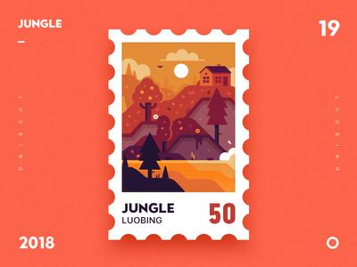 Jungle ui illustrator dribbble jungle