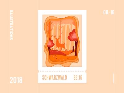 Schwarzwald 2018 documents ui illustrations