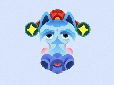 Chinese zodiac  NO:7 ui icon design illustrations