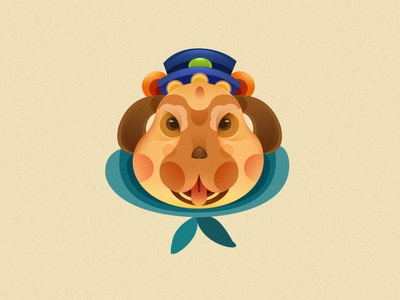 Chinese zodiac  NO:11 illustrations,icon design illustrations