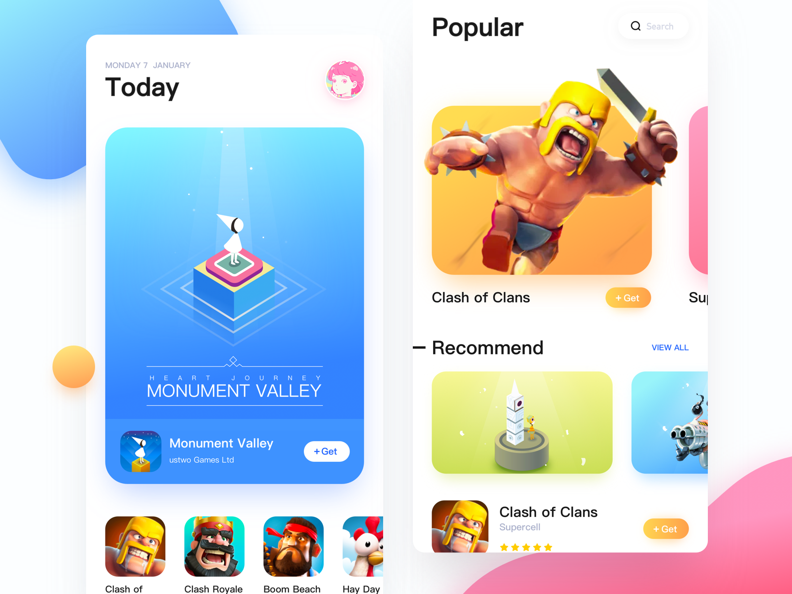 App Store   Search by Muzli