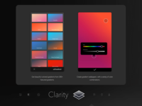 Clarity - Wallpaper Editing App: Create your Gradient
