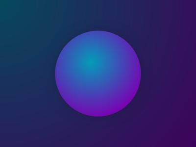 'Qi FM'  ICON - BLUE