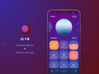 Qi FM - Music Radio + Ambient Sound App