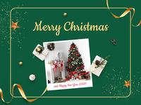 Happy holidays 🎅🎄 gifts christmas tree web design ui santa happy holidays happy new year merry christmas design