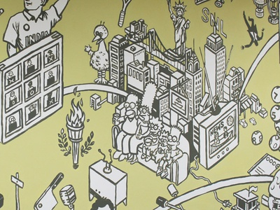 TV World Mural