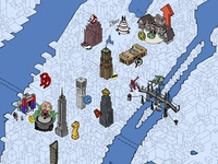 Time Out New York #NYCC map