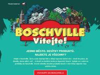 Boschville game illustrations