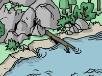 camping spread detail 2