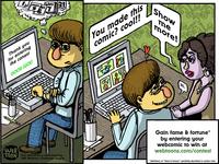 Webtoon Comic - Frame 5