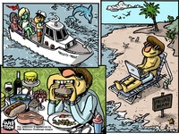 Webtoon Comic - Frame 4