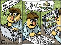 Webtoon Comic - Frame 1