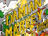 Damian Marley Poster - type