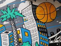 Oakland/Dubs Mural Final