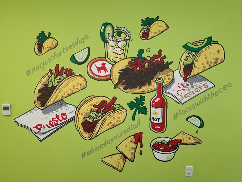 Nsussman redtail huddleroom taco mural1 800