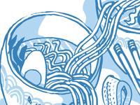 Noodle Bowl Mural Sketch v1