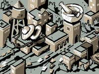 Telegraph #Bizerkeley mural concept sketch