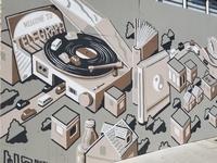 Telegraph #Bizerkeley Mural 2