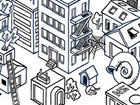 Isometric Buildings - Homes 2