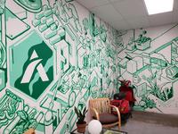 Atlas Edibles Mural