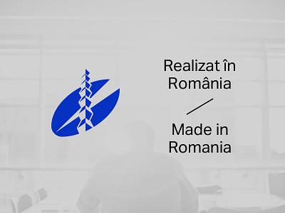 Realizat în România / Made in Romania download vector romania logo