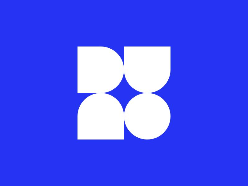 Personal mark minimal simple flat logo mark