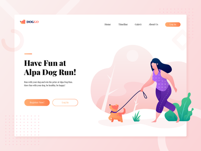 Hero Header Alpa Dog Run