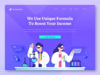 Formulabs Header Concept