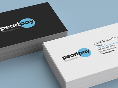 Business Card - Pearl Pay