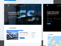 FS International - Home & Contactpage