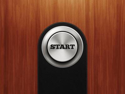Metal Arcade-Style Push Button