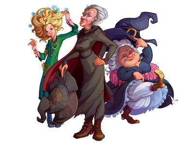 Witches of Discworld