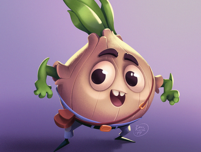 Onion Boy game character game art characters cartoon raster character design character